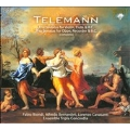 Telemann: Complete Trio Sonatas for Recorder, Oboe & Violin / Tripla Concordia