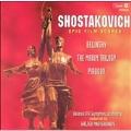 Shostakovich: Epic Film Scores - Belinsky Op.85, Youth of Maxim Op.41, etc