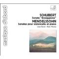 "Schubert: Sonate ""Arpeggione"";  Mendelssohn / Claret, Planes"