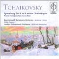 "Tchaikovsky: Symphony No.6 Op.74""Pathetique"", Piano Concerto No.3 Op.75, Andante Cantabile / Andrew Litton(cond), Bournemouth SO, etc"