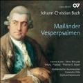 J.C.Bach: Mailander Vesperpsalmen