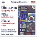 Corigliano: Symphony No.1; Torke: Bright Blue Music; Copland: Appalachian Spring Suite