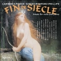 Fin de Siecle - Music for Viola and Piano CD