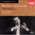 THE KARAJAN COLLECTION:SCHUMANN:SYMPHONY NO.4 (4/1957)/BRAHMS:SYMPHONY NO.4 (5/1955):HERBERT VON KARAJAN(cond)/PHILHARMONIA ORCHESTRA