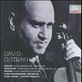 Mozart: Violin Concerto No.3 K.216; Beethoven: Romance No.2 Op.50; Brahms: Violin Concerto Op.77 / David Oistrakh, Karel Ancerl, Czech PO, etc