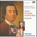 J.C.F.Bach: Concerti / Gottfried von der Goltz, Freiburger Barockorchester, etc