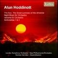 A.Hoddinott: Variants Op.47, Night Music Op.48, Sinfonietta No.1 Op.56, No.3 Op.71, etc