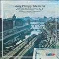 Telemann: Paris Quartets Vol.2, Vol.3