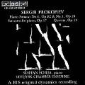 Prokofiev: Piano Sonatas no 6 & 3 etc / Staffan Scheja et al