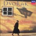 Dvorak: Piano Quintet Op 81, etc / Haefliger, Takacs Quartet