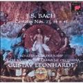 Bach: Cantatas no 27, 34 & 41 / Leonhardt, Schaefer, et al