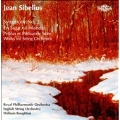 Sibelius: Symphony No.2 Op.43, Finlandia Op.26, En Saga Op.9, etc (1988-90) / William Boughton(cond), RPO, etc