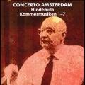 Hindemith: Kammermusik No.1-No.7 / Concerto Amsterdam