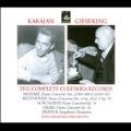 Karajan & Gieseking -The Complete Columbia Records: Mozart, Beethoven, Schumann, Franck (1951-53) / Walter Gieseking(p), Herbert von Karajan(cond), Philharmonia Orchestra