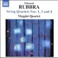 Rubbra: String Quartets No.1, No.3, No.4