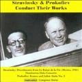 Stravinsky & Prokofiev Conduct Their Works
