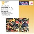 Shostakovich: Symphony no 1, etc / Eugene Ormandy, et al