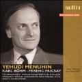 Tchaikovsky: Violin Concerto (9/24/1949); Mozart: Violin Concerto No.4 (4/9/1951); J.S.Bach: Chaconne (6/28/1948) / Yehudi Menuhin(vn), Ferenc Fricsay(cond), Karl Bohm(cond), RIAS Symphony Orchestra