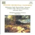 Swedish Orchestral Favourites / Kamu, Helsingborg Symphony