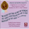 Haydn: Symphony no 51, Piano Concerto in G, etc / Schwarz