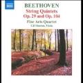 Beethoven: String Quintets Op.29, Op.104