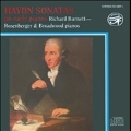 HAYDN:SONATAS ON EARLY PIANOS -SONATA NO.43/NO.26/NO.50/NO.51 RICHARD BURNETT(fp)