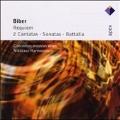 Biber: Requiem, Sacred Works, Battalia, etc