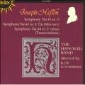 Haydn: Symphonies no 42-44 / Roy Goodman, Hanover Band
