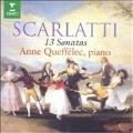 Scarlatti: 13 Sonatas / Anne Queffelec