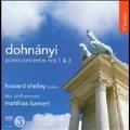 E.Dohnanyi: Piano Concertos No.1 Op.5, No.2 Op.42