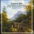 Chamber Works for Winds & Strings - F.Witt, C.F.zu Lowenstein