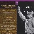 Charles Munch Vol.9 - Mendelssohn; Brahms / Ossy Renardy(vn), Charles Munch(cond), Orchestre de la Societe du Conservatoire Paris, etc