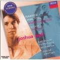 Barber: Violin Concerto Op.14; Bloch: Baal Shem; Walton: Violin Concerto