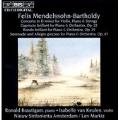 Mendelssohn: Concerto for Violin & Piano, etc / Markiz