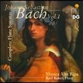 Bach: Complete Flute Sonatas Vol 1 /Kaiser, Musica Alta Ripa