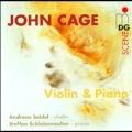 J.Cage: Violin & Piano / Andreas Seidel, Steffen Schleiermacher