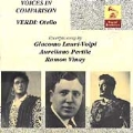 Vocal Archives - Voices in Comparison - Verdi: Otello