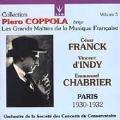Coppola Vol 5 - Maitres de la Musique Francaise