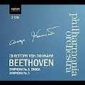 Beethoven: Symphonies No.3, No.5 / Christoph von Dohnanyi, Philharmonia Orchestra