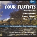 FOUR FLUTISTS:MUSIC BY PETER HOMANS & WILLIAM THOMAS MCKINLEY:CATHRINE SAUNDERS(fl)/HELEN SAUNDERS(cl)/GERARD SCHWARZ(cond)/NEW YORK CHAMBER SYMPHONY/ETC
