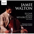Elgar: Cello Concerto Op.85; N.Myaskovsky: Cello Concerto Op.66 (9/13-14/2006) / Jamie Walton(vc), Alexander Briger(cond), Philharmonia Orchestra