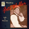 Remembering Fats Waller