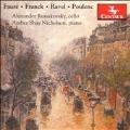 Faure, Franck, Ravel, Poulenc