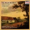 The Haydn Brothers - Violin Concertos / Godhoff, Trabichoff