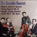 "Mozart: Clarinet Quintet K.581, String Quartet No.15; Haydn: String Quartet Op.64-5 ""The Lark"""