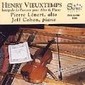 Vieuxtemps: Complete Works for Viola & Piano / Lenert, Cohen