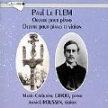 Le Flem: Sonata for Violin & Piano, Piano Works / Girod