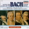 Music of the Bach Sons: Sinfonias, etc / Concerto Koeln