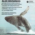 Hovhaness: And God Created Great Whales, etc / David Amos