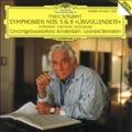 """Schubert: Symphonien nos 5 & 8 """"Unfinished"""" / Bernstein"""